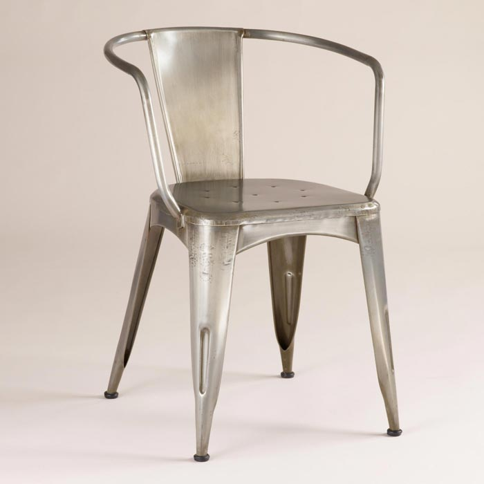 metal tub dining chairs