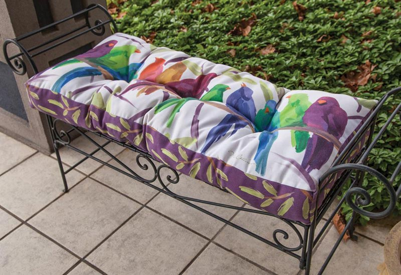 patio furniture bench cushions