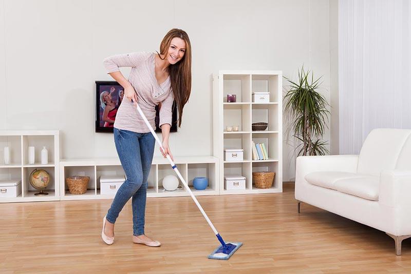 plastic laminate flooring cleaning