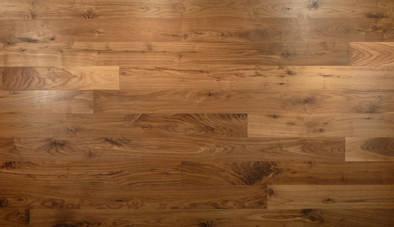solid wood walnut flooring