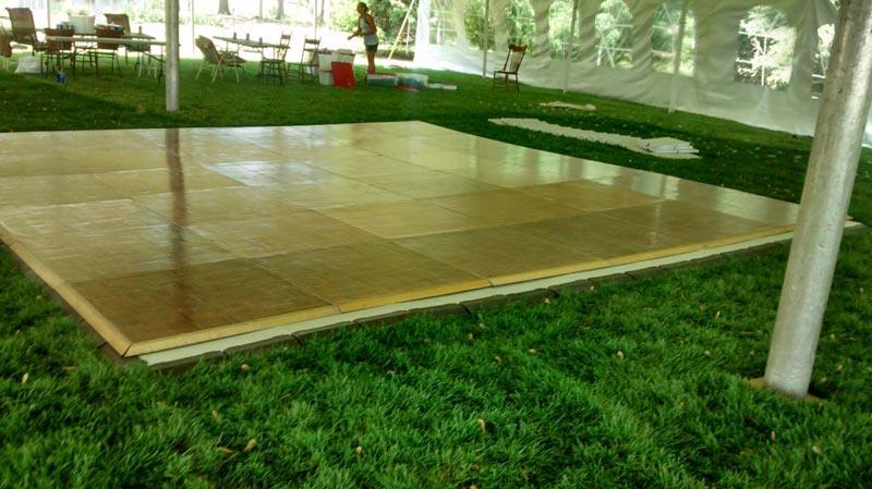 temporary flooring for grass