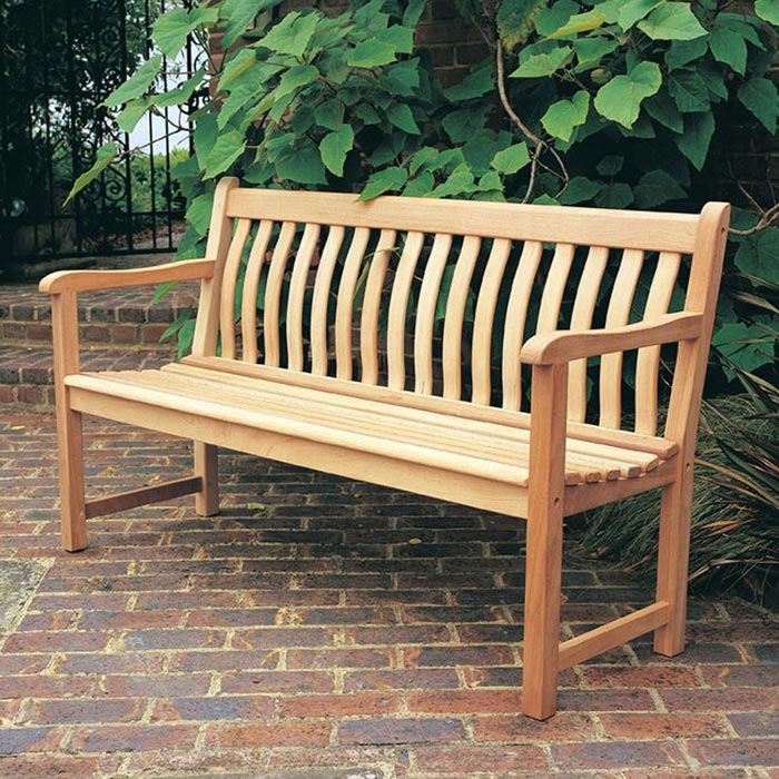 wood garden bench kit