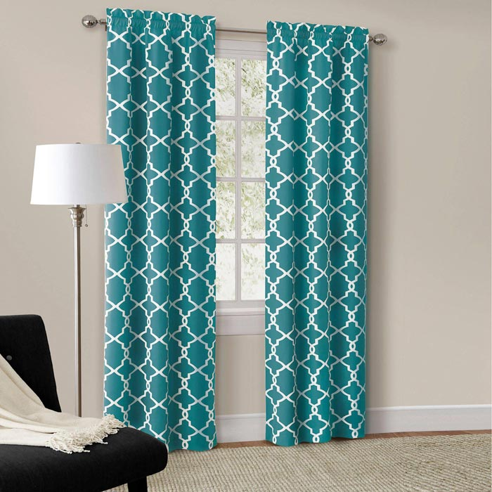 54 inch length bedroom curtains