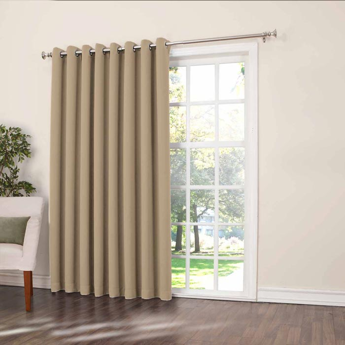 54 inch length room darkening curtains
