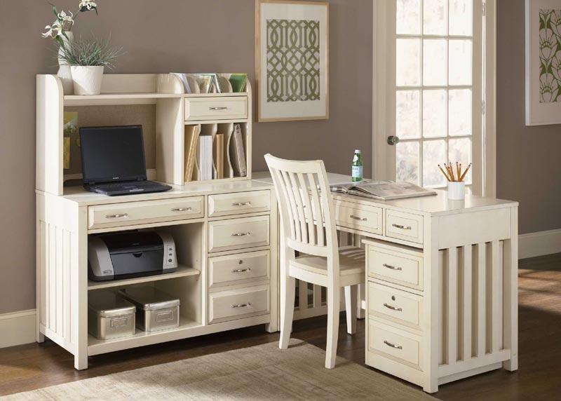 Ikea White Wood Desk Chair