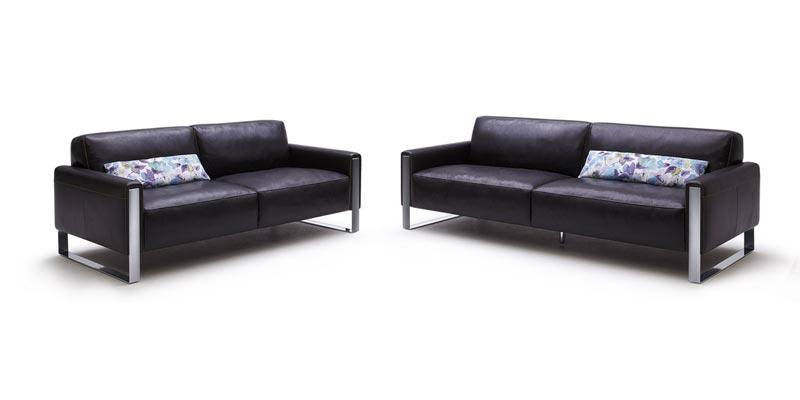 : black leather sofa sale