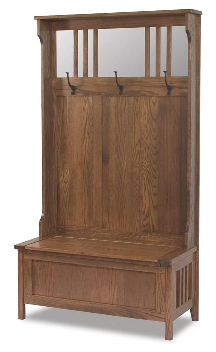 hall tree and storage bench canada