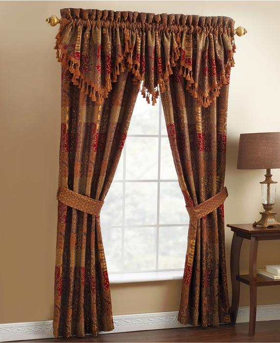 macy's window treatments valances