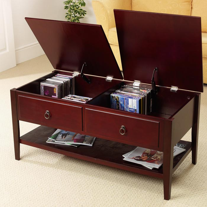 mahogany coffee table with drawers uk