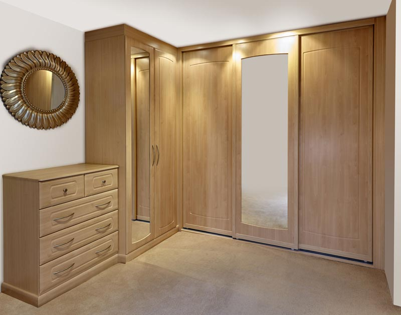 : bedroom fitted wardrobes cost