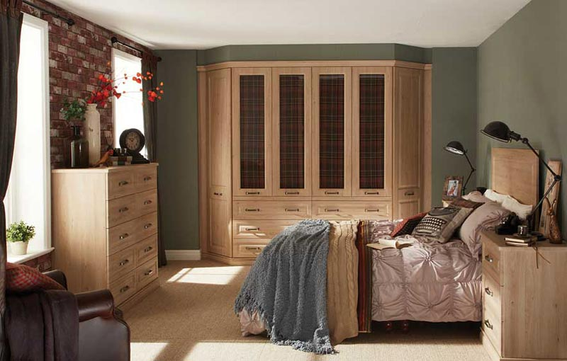 : bedroom fitted wardrobes scotland