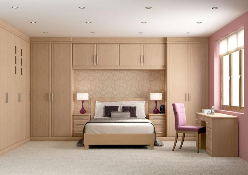 : bedroom fitted wardrobes