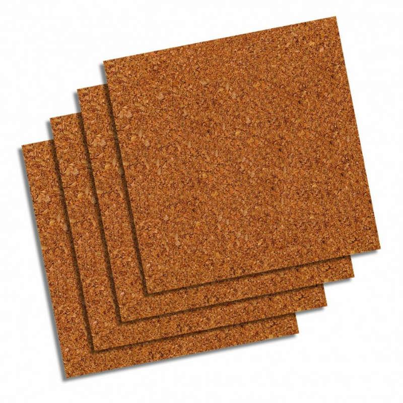 cork squares flooring