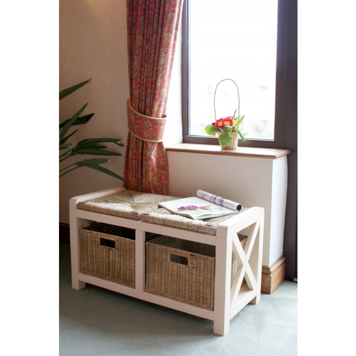 somerset 2 seater storage bench2
