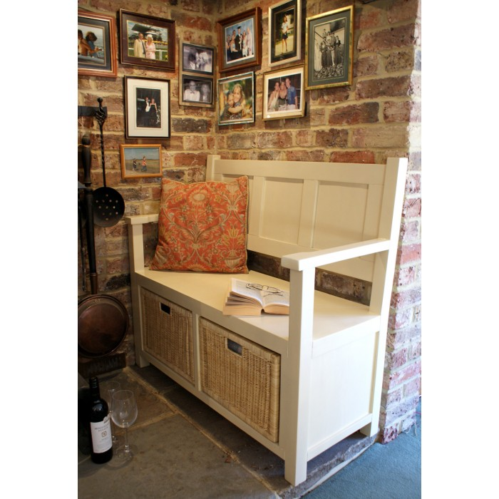 somerset 2 seater storage bench7
