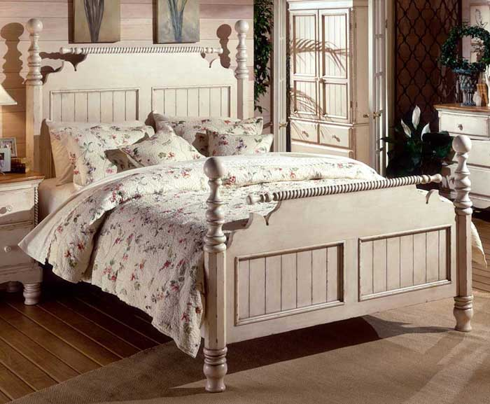 : antique bedroom furniture white