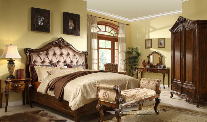 : antique oak bedroom furniture