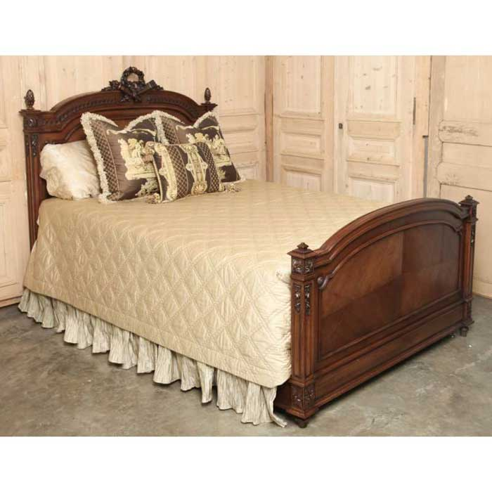 : antique walnut bedroom furniture