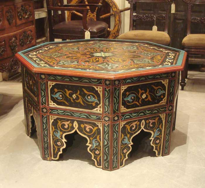 moroccan coffee table au