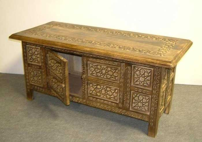 moroccan coffee table