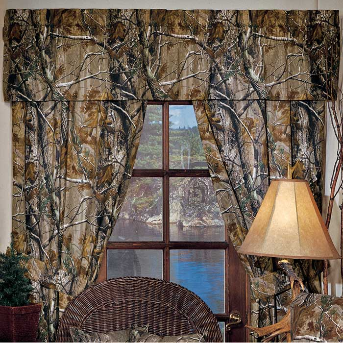realtree max 4 camo curtains