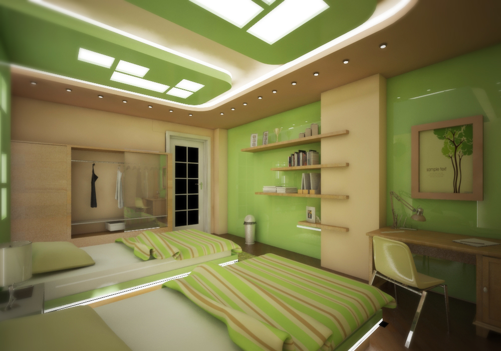 2 This bedroom for two is perfect for teenagers ...