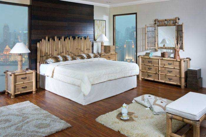 : bamboo style bedroom furniture