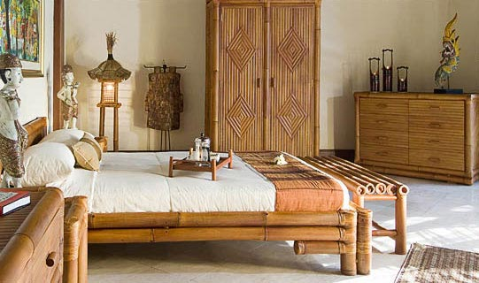 : bamboo wood bedroom furniture