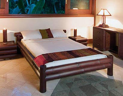 : indonesian bamboo bedroom furniture
