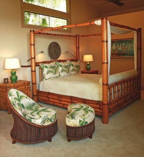 can make your bedroom as stylish as a bamboo bedroom furniture set