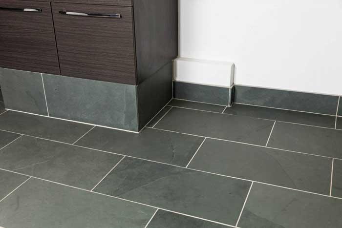 black slate floor tiles 600×300
