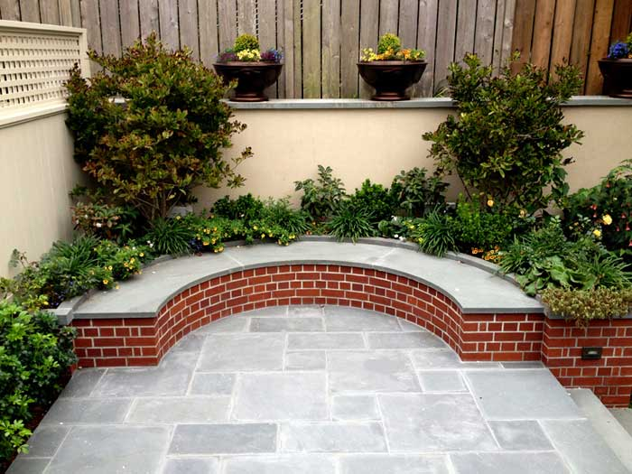 brick bench ideas1