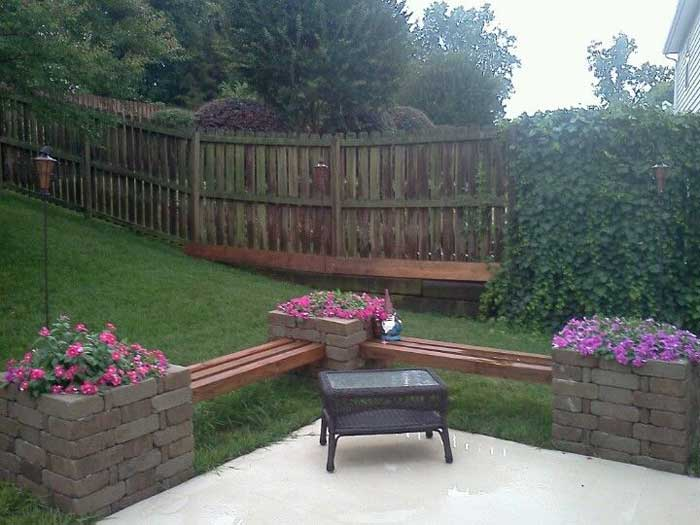 brick bench ideas2
