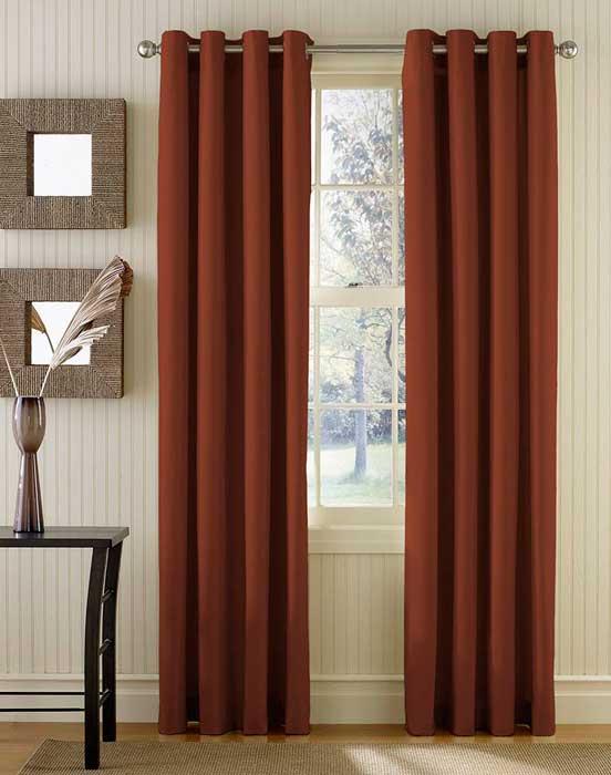 canvas curtains grommets