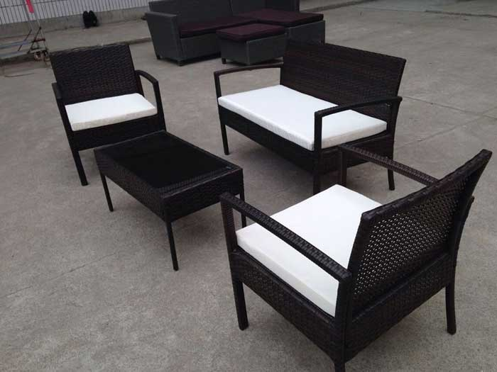 Impressive Rattan Garden Furniture Deals By Tesco Couch
