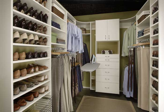 custom build closet storage