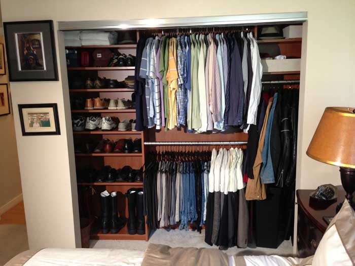 walk in closet systems cost