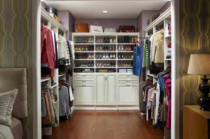 walk in closet systems design