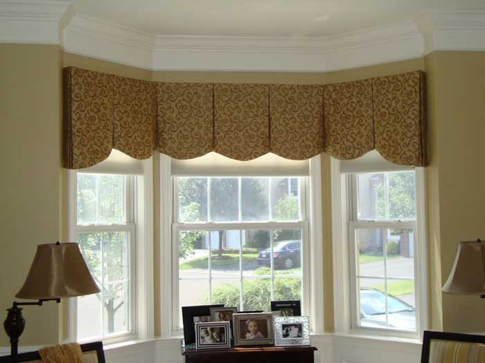window treatments for bay and bow windows