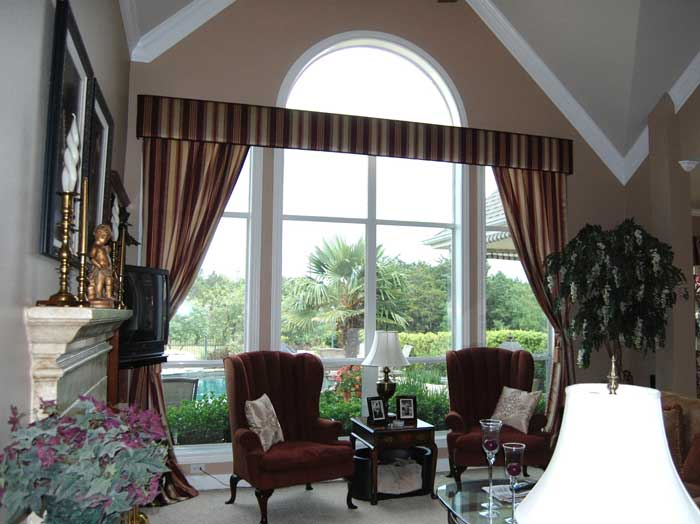 window treatments for bow bay windows