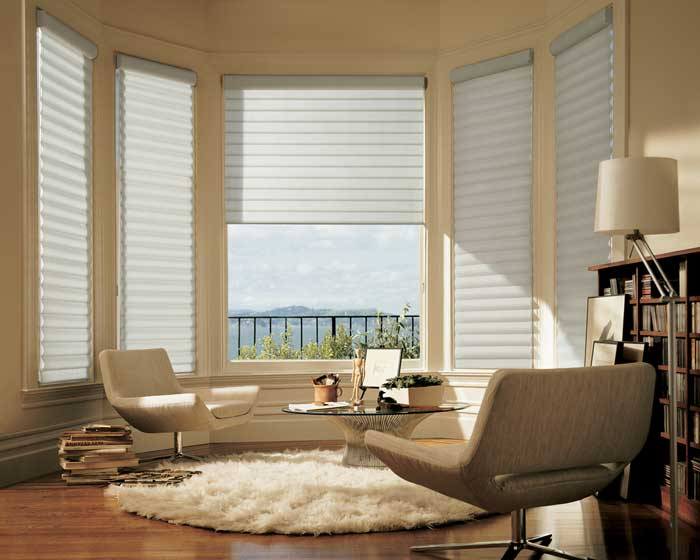 window treatments for bow windows in living room