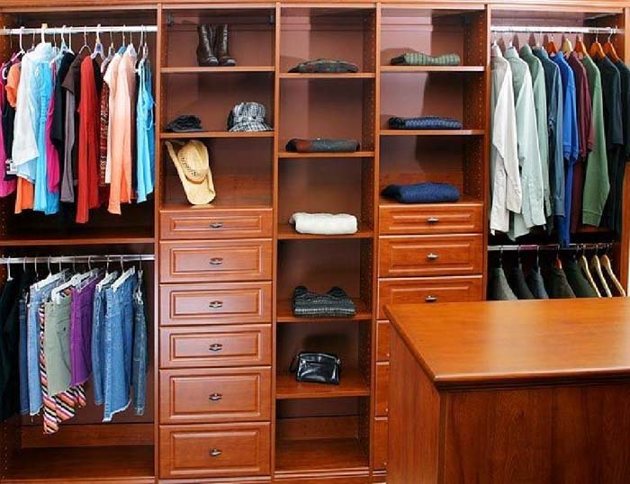 walk in closet systems canada