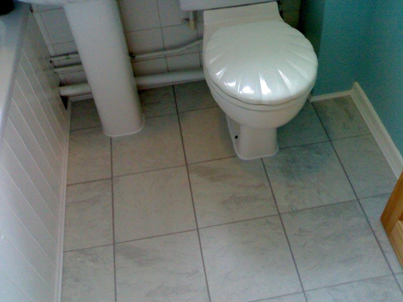 White Tile Effect Laminate Flooring For Bathrooms Couch Sofa Ideas Interior Design