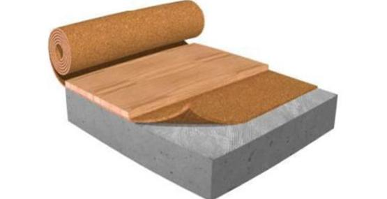 Benefits cork underlay for flooring