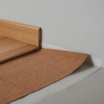 Enchanting cork underlay for flooring