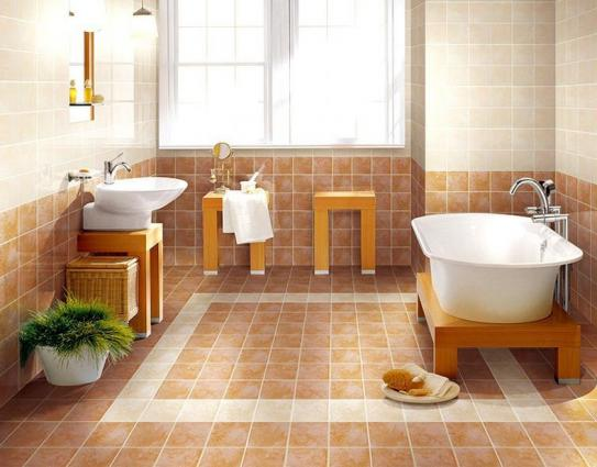 Beautiful anti slip tiles for wet rooms