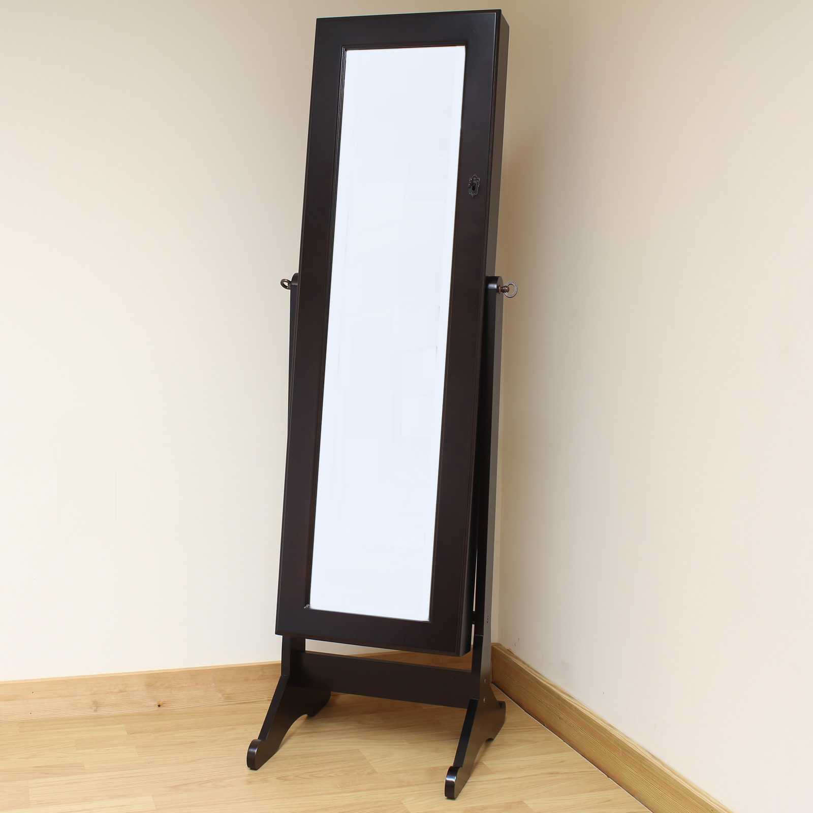 full length mirror jewelry cabinet uk