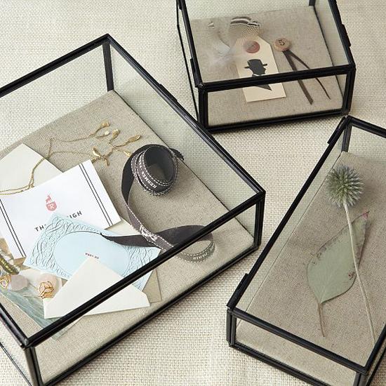 glass shadow jewelry box
