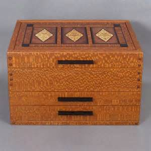 arts and crafts jewelry box plans