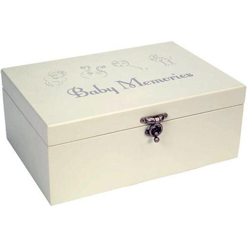 baby keepsake jewelry box